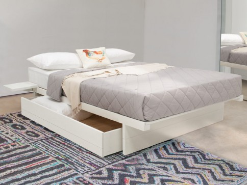 Japanese Storage Bed (No Headboard)