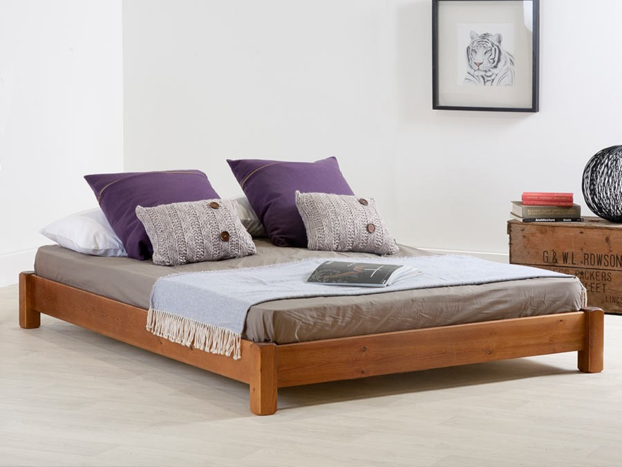 Low Platform Bed No Headboard Get Laid Beds