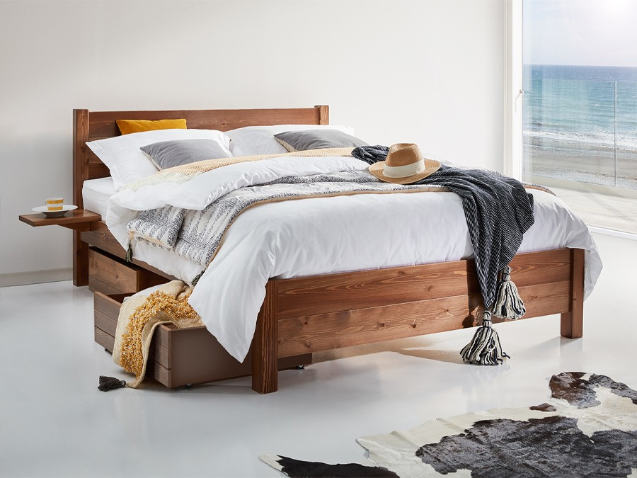 Oxford Bed Frame Coffee Bean By Get Laid Beds 900x675