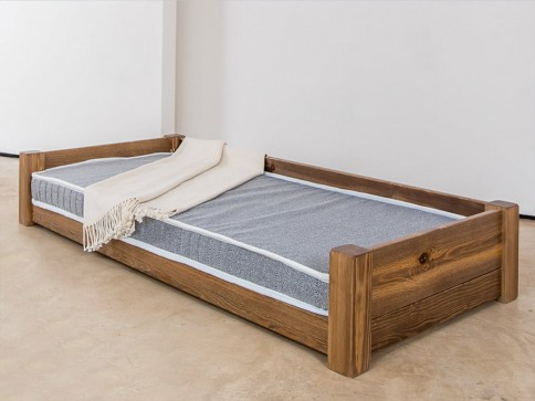 Large Wooden Pet Bed
