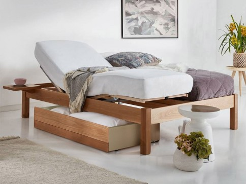 Platform Motorised Adjustable Bed (No Headboard)