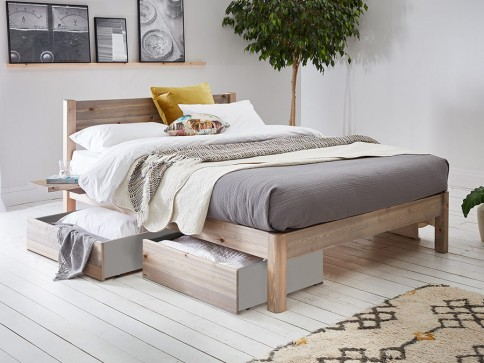White Knight Bed (Space Saver)
