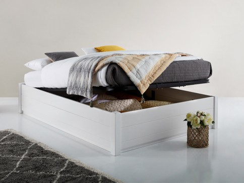 Ottoman Storage Bed (No Headboard)