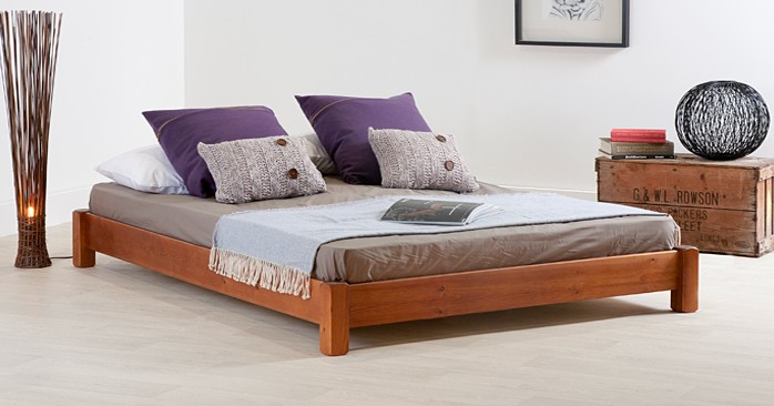 Low Platform Bed (Etsy)