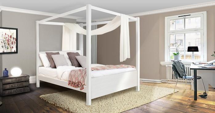 four poster beds get laid beds. Black Bedroom Furniture Sets. Home Design Ideas