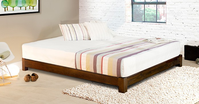 Low Platform Bed (Space Saver) (Etsy)