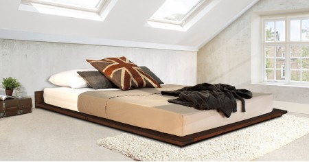 Low Modern Attic Bed
