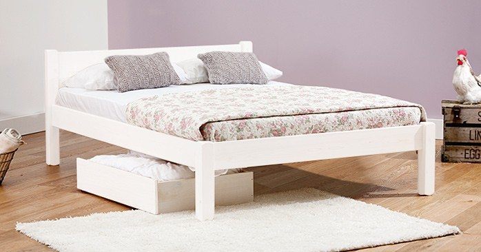 White Knight Bed (For Etsy)