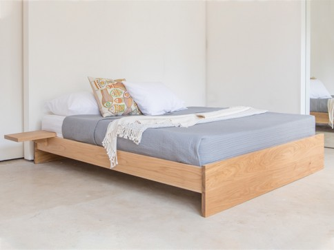 Enkel Platform Bed (No Headboard)