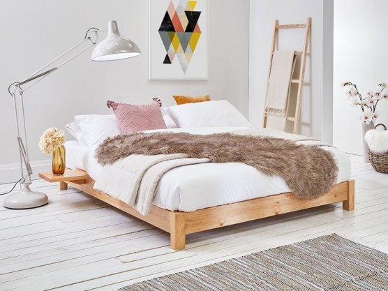 Wooden Beds Handmade Low Beds With Fast Delivery Get Laid Beds