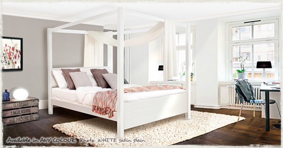 Single Four Poster Bed 4 Poster Beds Single Bed Frame By