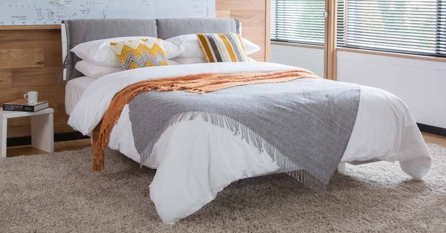 Padded Bed Headboard Cover - Triple   Get Laid Beds