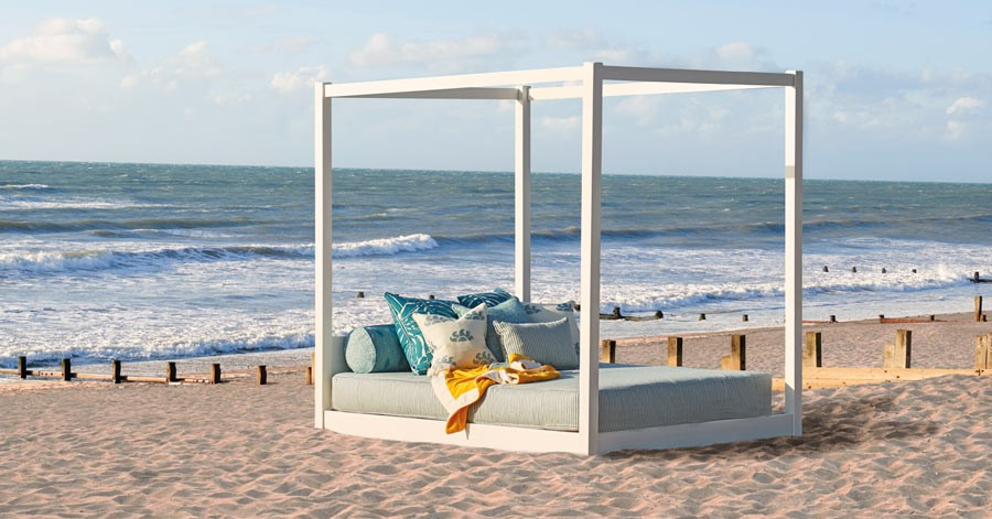 Bali Outdoor Four Poster Canopy Bed Get Laid Beds