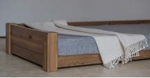 Large Wooden Dog Bed