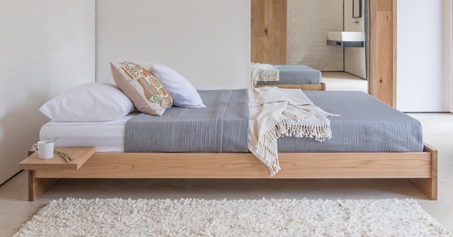 Enkel Platform Bed No Headboard Get Laid Beds