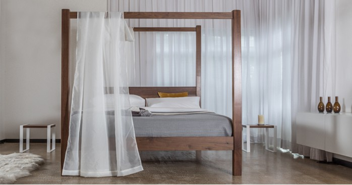 New Forest Four Poster Bed