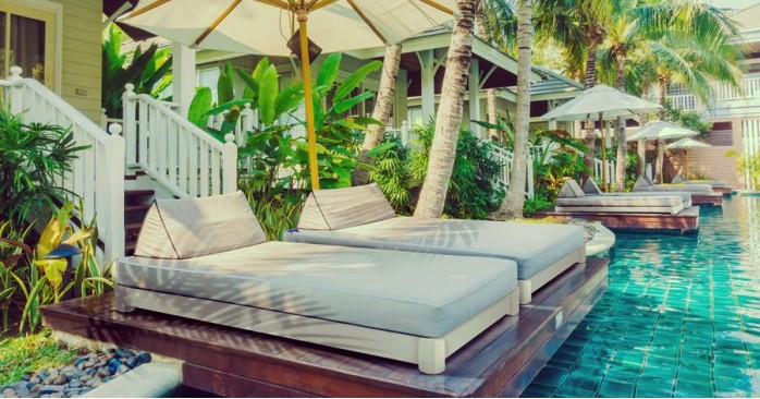 Bali Outdoor Low Bed