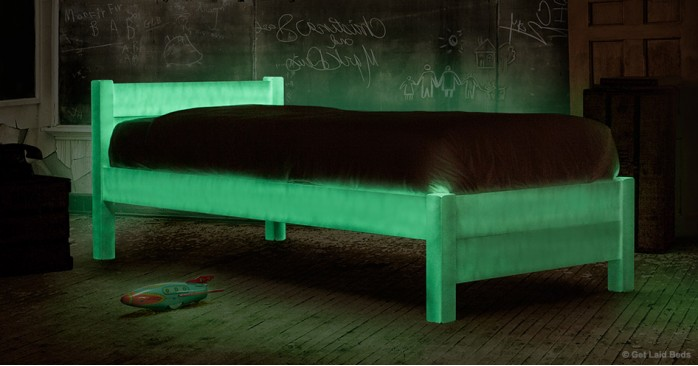 Glow In The Dark Bed - Halloween Limited Edition
