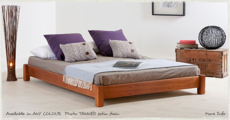 build queen size platform bed frame | DIY Woodworking Plans
