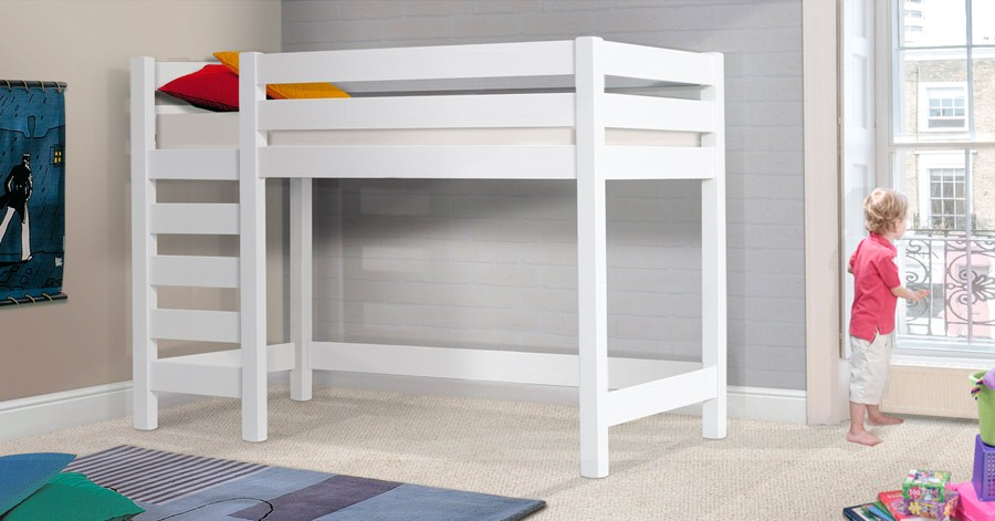 bed pc in tent workstation beds bedroomdiscounters std bunk loft white wyatt