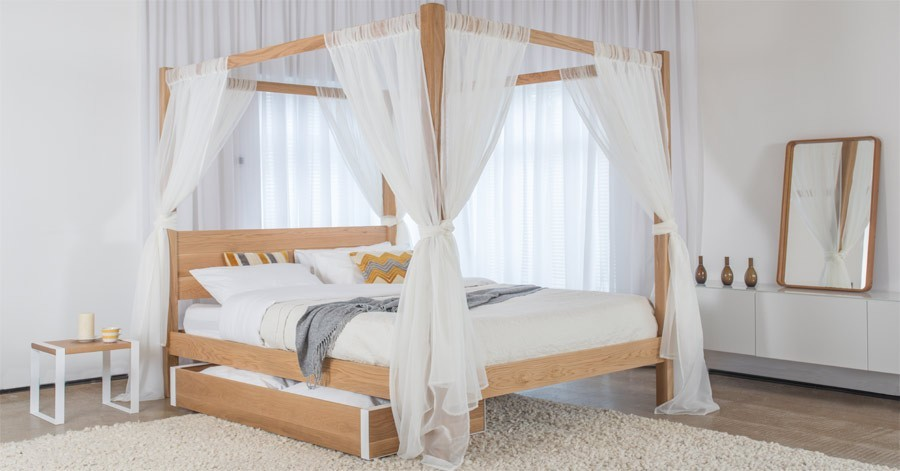 Four Poster Bed Curtains Get Laid Beds