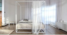 Mondrian Metal Four Poster Bed