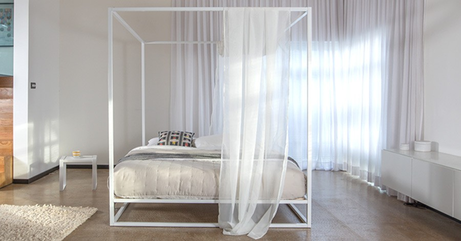 Mondrian Metal Four Poster Bed Get Laid Beds