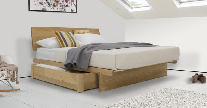 Japanese Fuji Platform Storage Bed
