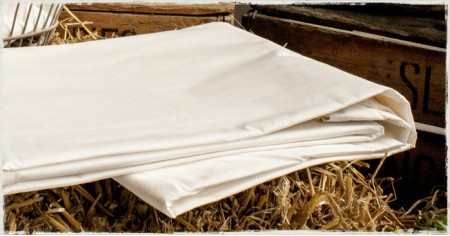 Fitted Mattress Sheet - 100% Cotton,