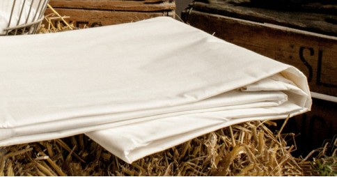Fitted Mattress Sheet - 100% Cotton, Deep
