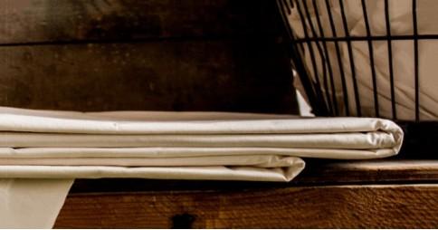 Flat Mattress Sheet - 100% Cotton, Deep Fit, 200TC