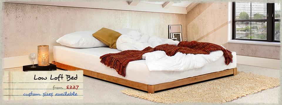 5 - Low Loft Wooden Bed Frame