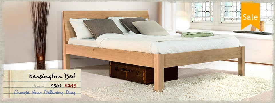 4 - Kensington wooden bed frame
