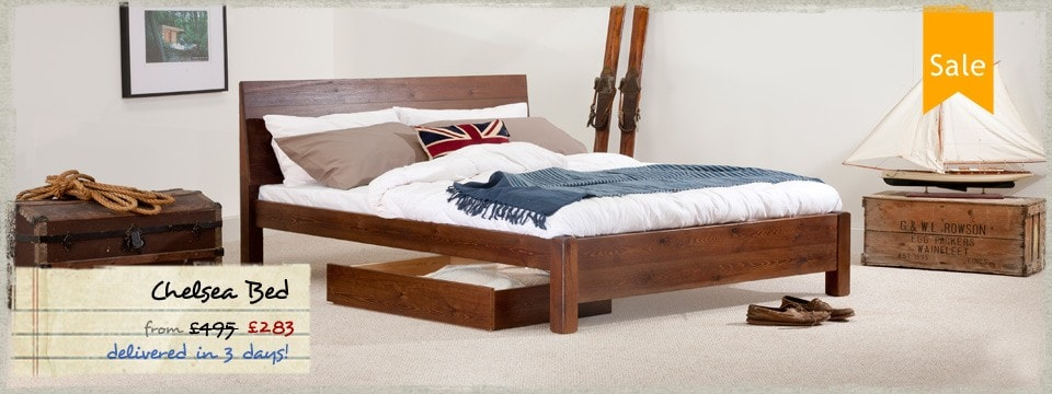 4 - Chelsea Wooden Bed Frame