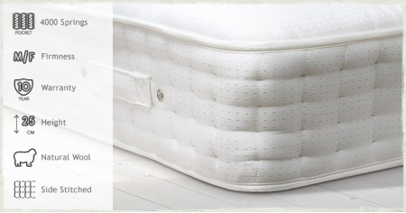 Pocket 4000 Mattress