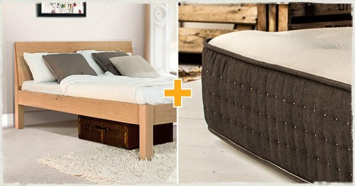 (OLD) Kensington Bed & Mattress Set