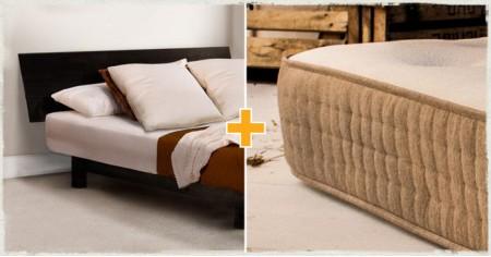OLD Low Shoreditch Bed & Mattress Set