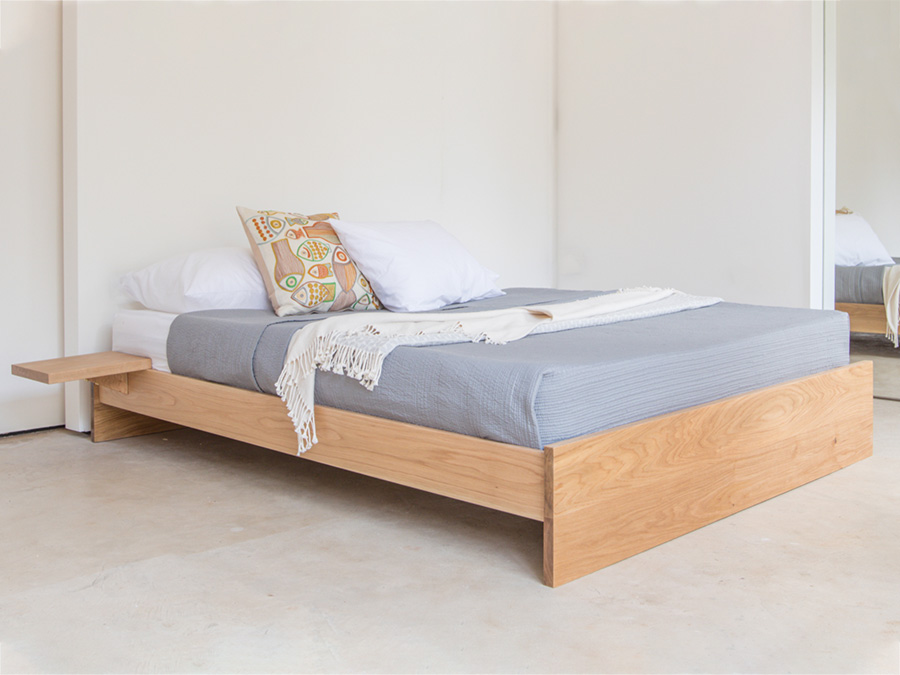 Enkel Platform Bed No Headboard Get Laid Beds