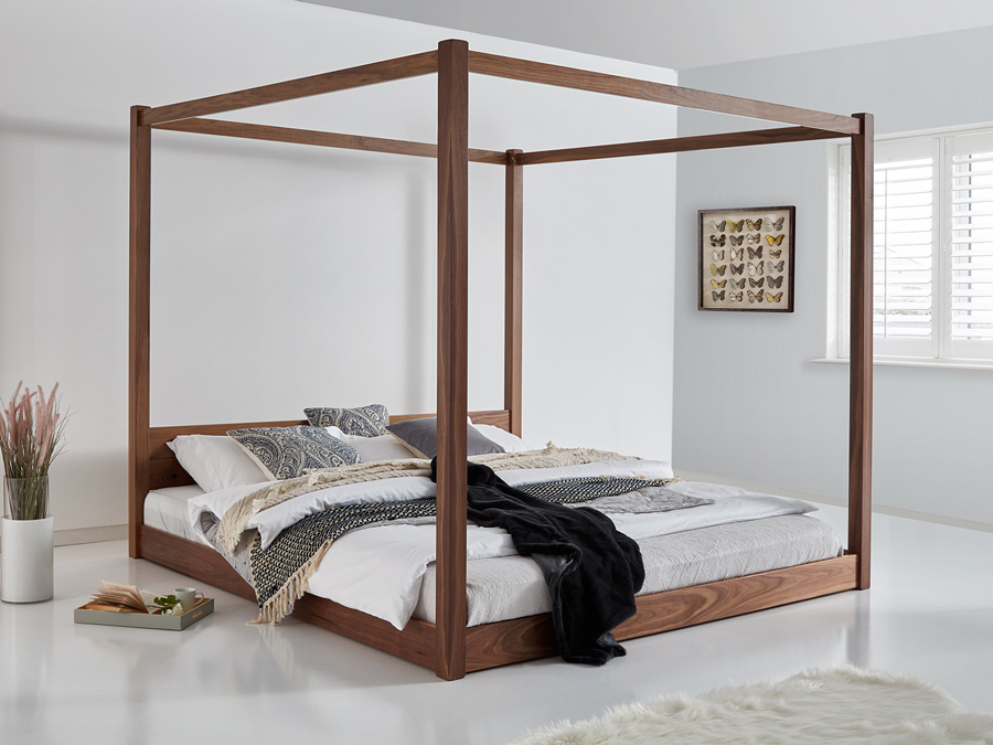 Canopy Bed.Low Four Poster Bed Get Laid Beds