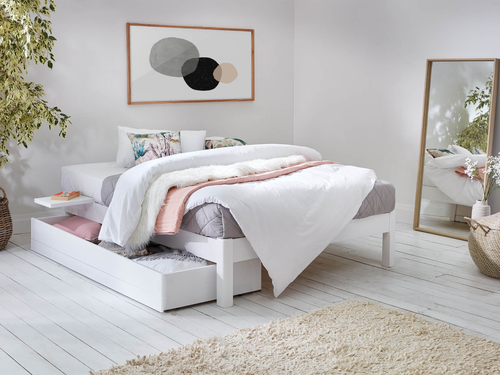 Picture of: Platform Bed Space Saver Get Laid Beds