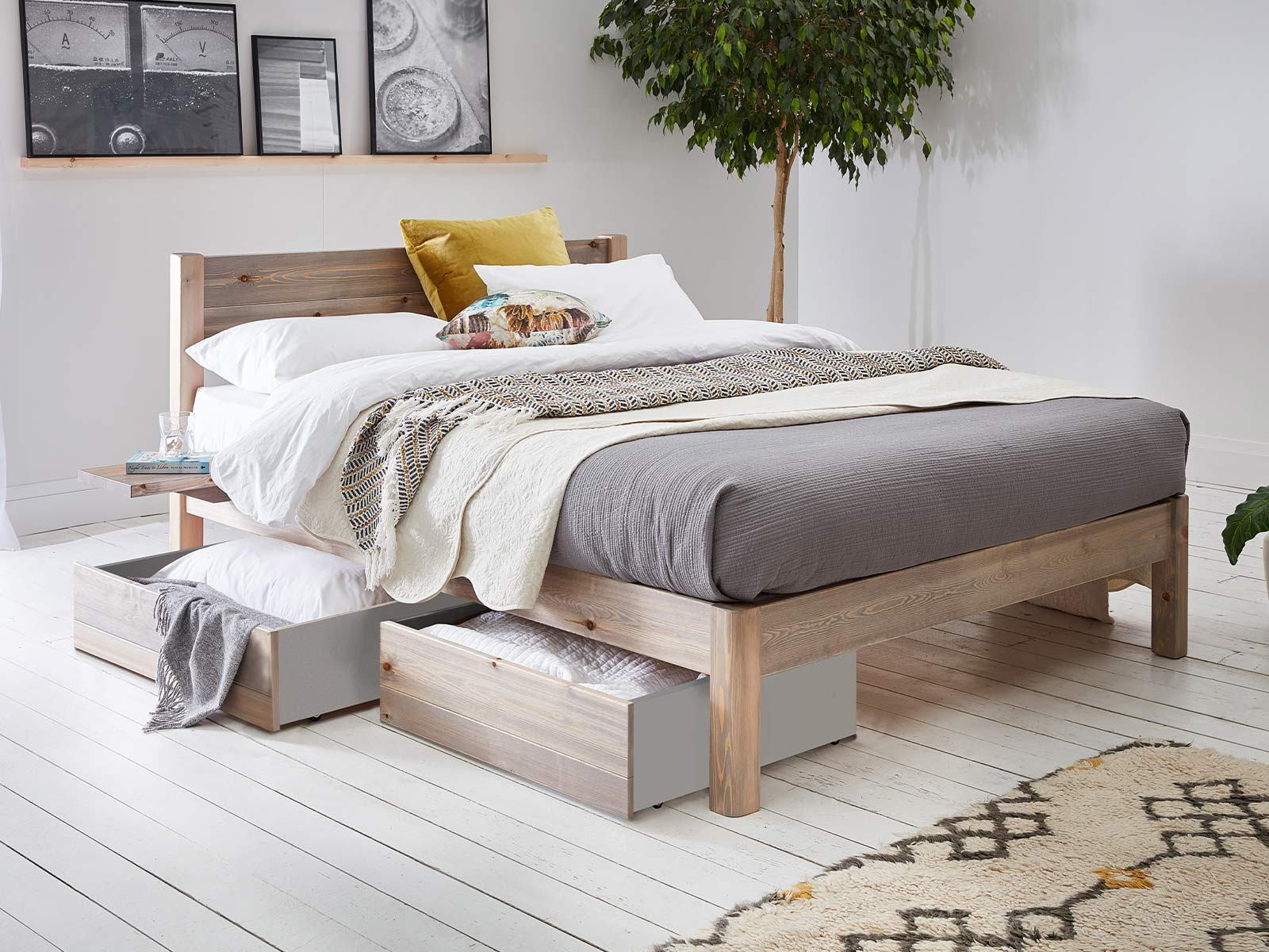 Picture of: White Knight Bed Space Saver Get Laid Beds