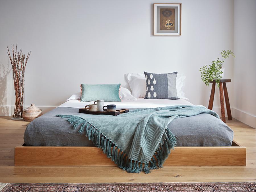 Low Enkel Platform Bed No Headboard Get Laid Beds