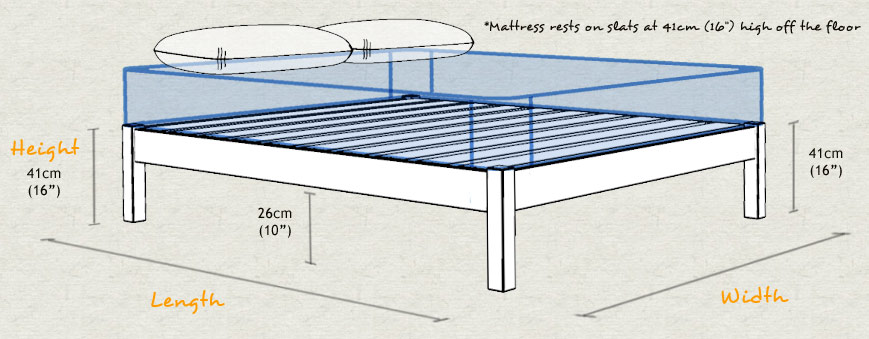 Platform Bed Typical Height