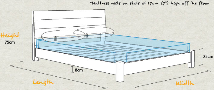 Low Kensington Bed Schematic