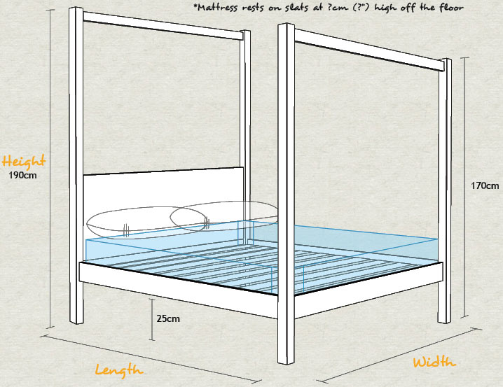 New Forest Four Poster Bed Get Laid Beds