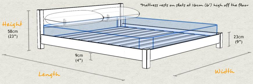 low oriental bed ebay get laid beds. Black Bedroom Furniture Sets. Home Design Ideas