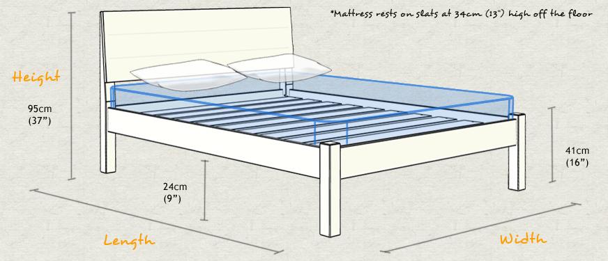 kensington bed. Black Bedroom Furniture Sets. Home Design Ideas