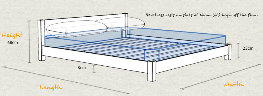 Low oriental bed get laid beds - Low sitting bed frame ...